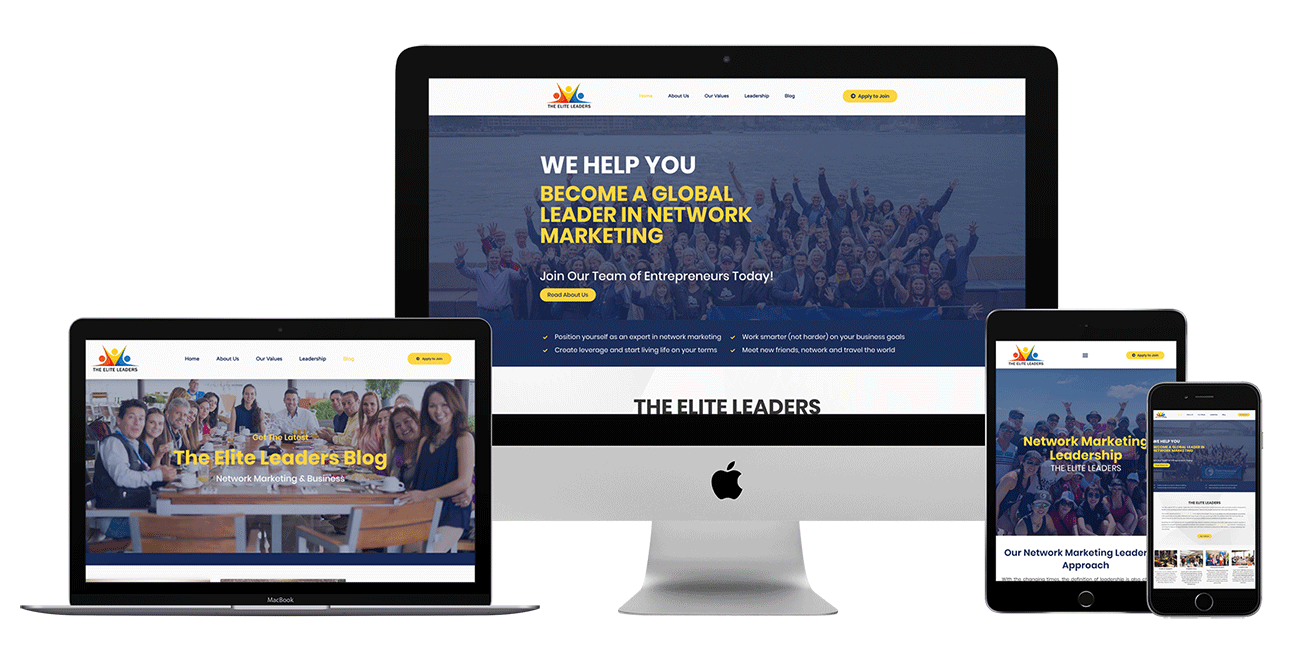 The Elite Leaders case study responsive